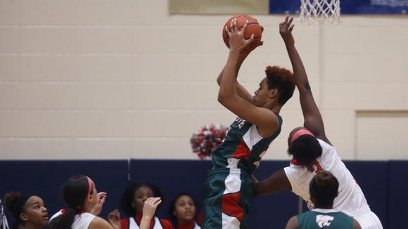 Lawrence North's Ae'rianna Harris is a 2016 Purdue commitment