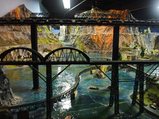 At its busiest, Northlandz can see a little more than 2,100 visitors per day.