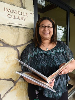 Danielle Cleary is the general manager of the Livonia Olive Garden restaurant on Middlebelt near Schoolcraft Road.