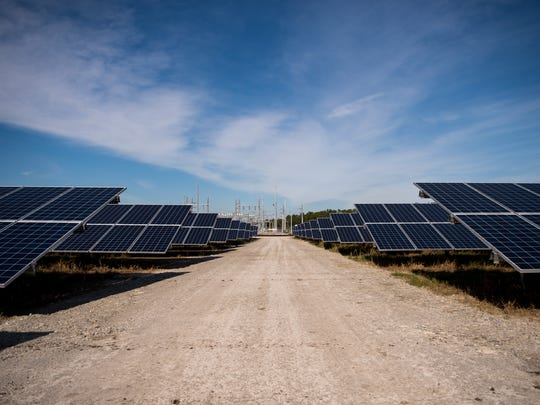 The Florida Power & Light Co. Loggerhead Solar Energy Center was completed in 2018.