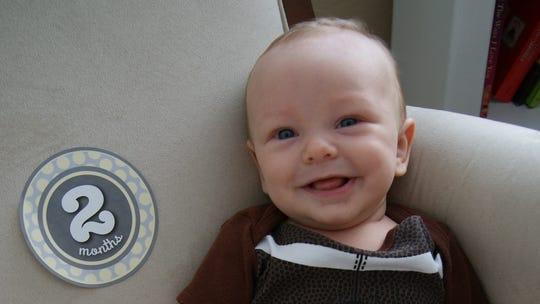 """Richard """"Richie"""" Lafayette Lutz, born May 13, 2015."""