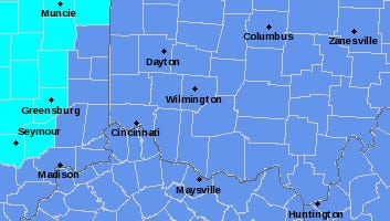 The National Weather Service has issued a frost advisory and freeze watch for the weekend.
