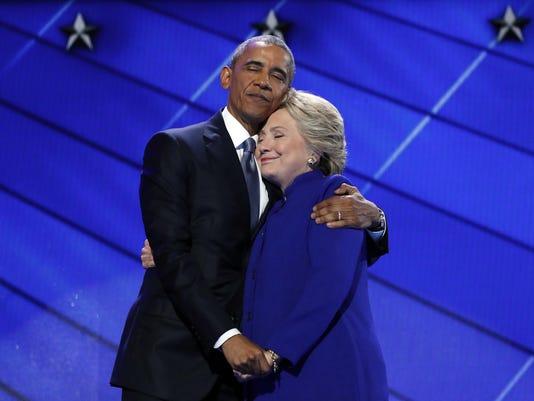 Barack Obama,Hillary Clinton