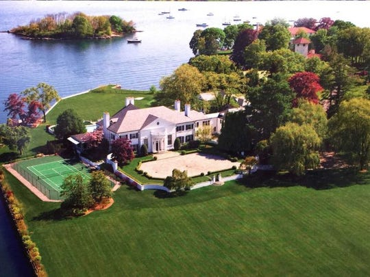 Donald Trump's first mansion in Greenwich, Connecticut, is now on the market for $54 million.