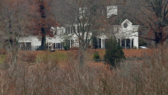 Lois Colley was found slain in the laundry room of the family's hilltop home on Titicus Road in North Salem.