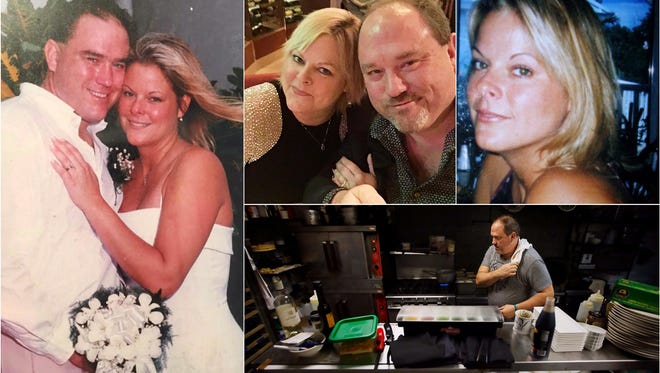 """""""I'm going to miss her terribly and am a little lost,"""" says Harold Balink of his wife, Julie, who died from ovarian cancer on October 19. Balink, a renowned chef, spends most of his time now at Harold's, his restaurant in Fort Myers."""