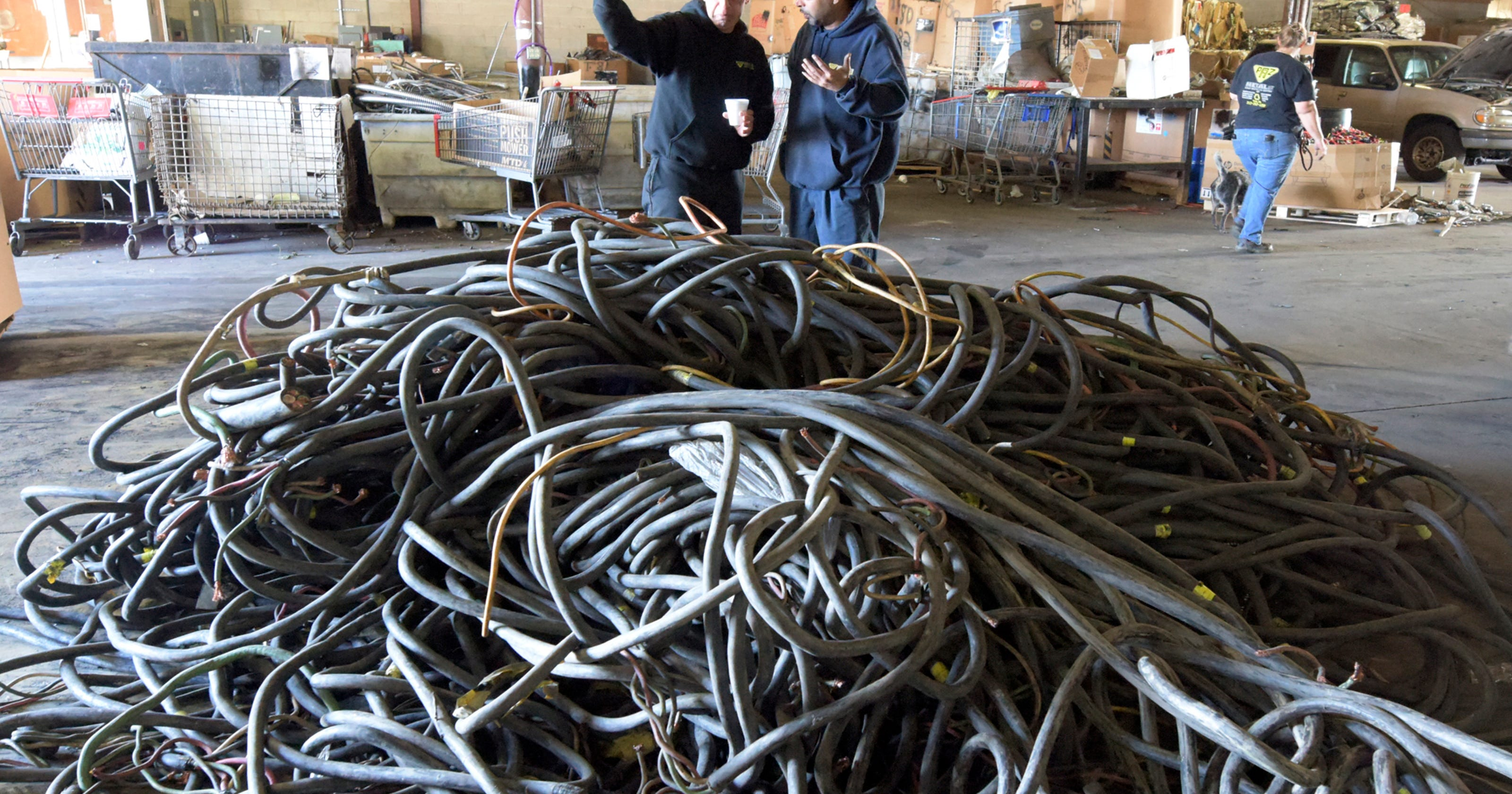 Scrap metal dealers work with police to catch thieves