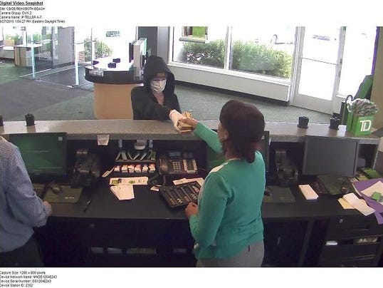 TD Bank Robbery suspect 3