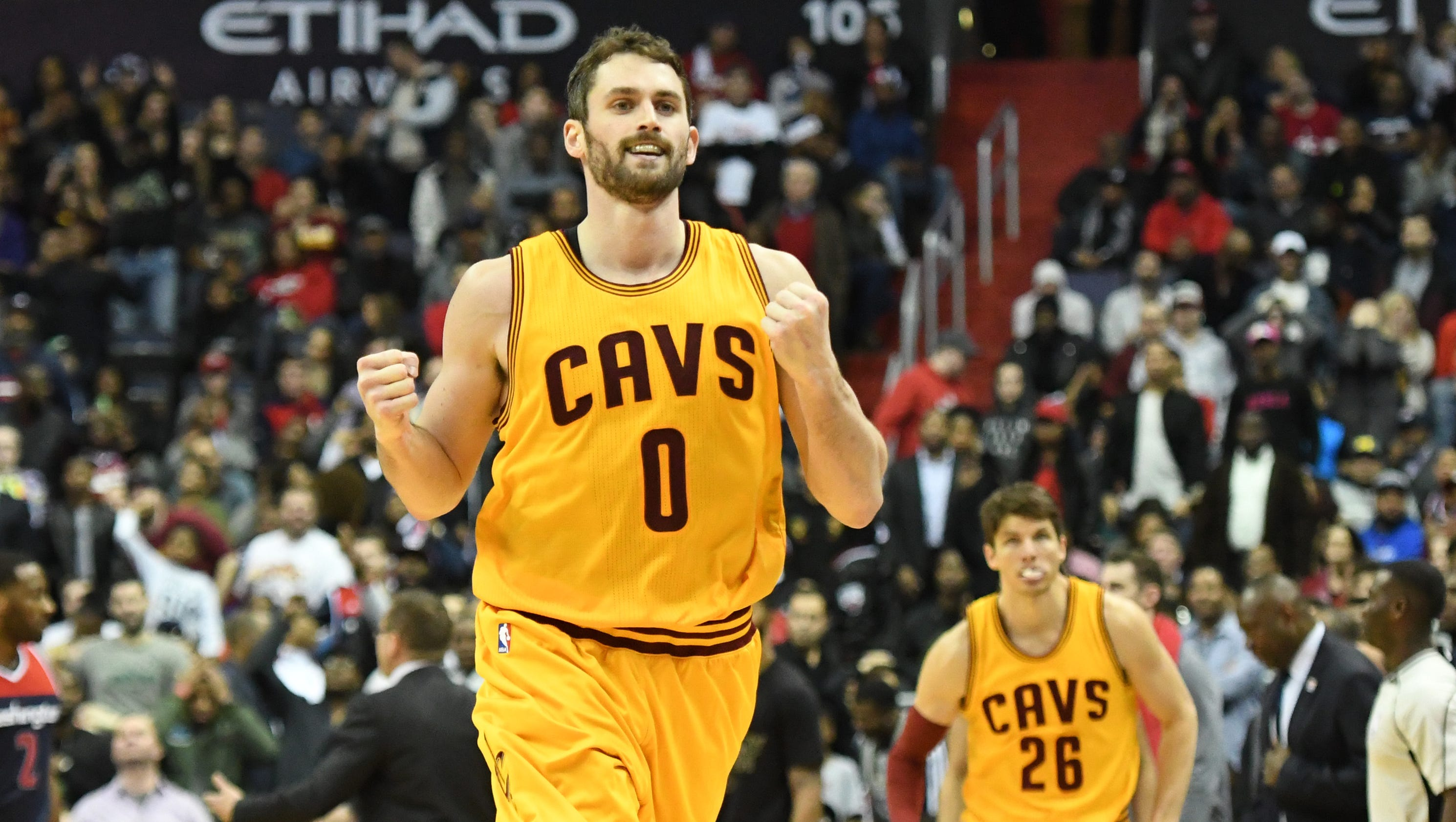 Cavaliers anticipate Kevin Love will return on upcoming road trip #693827