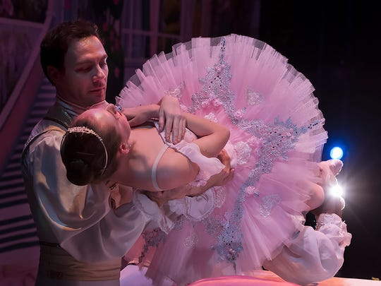 """The Sleeping Beauty"" dancer Catherine Cobb and Raul Peinado"