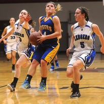 Howards Grove's Brittany Schaller races to the basket against St. Mary's Springs Thursday in Fond du Lac in a WIAA Division 4 sectional playoff game.
