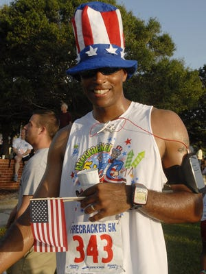 You'll be sure to see plenty red,white and blue clad runners during the upcoming Firecracker 5K.