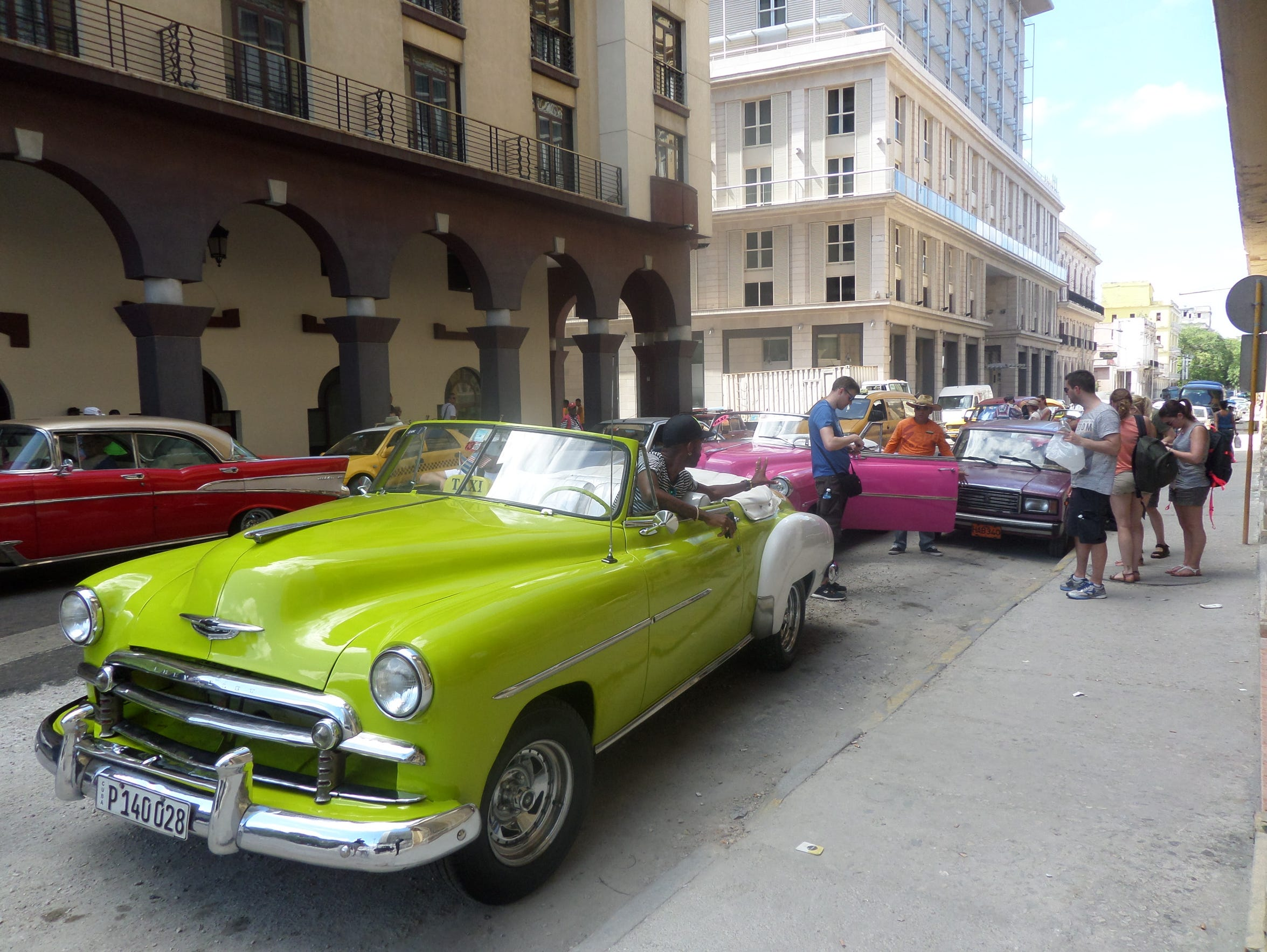 In Havana, students found a thriving cultural scene.