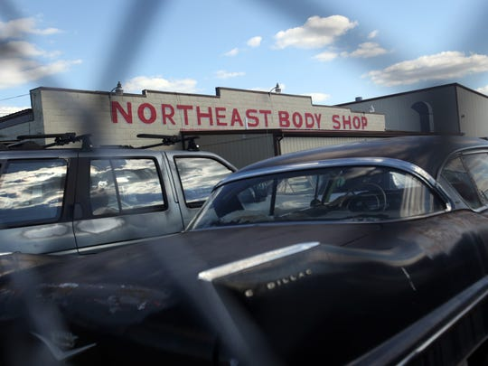 Charles Allen Jr., owner of Northeast Body Shop in Wilmington, called authorities to notify them of the problem on the I-495 Christina River bridge on April 15.