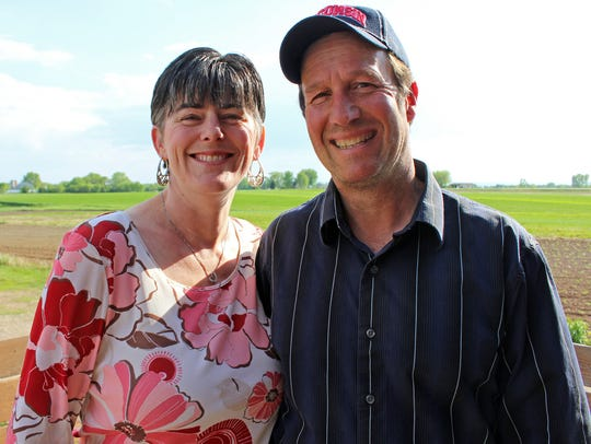 Dave and Leslie Meuer work a 150-acre farm in Calumet