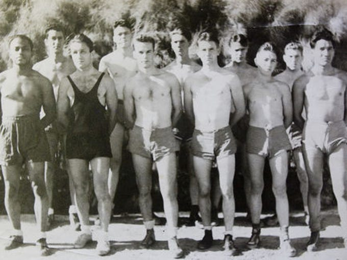 THEN: Gilbert High School's swim team, photographed