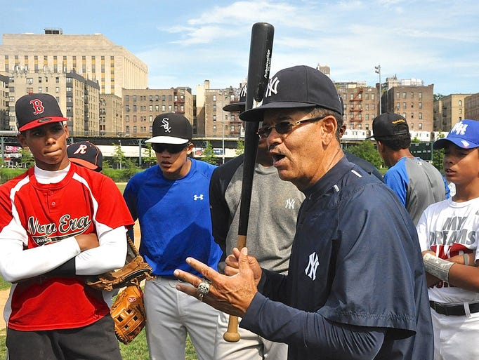 """Cesar Presbott said of the importance of hitting, """"If you can hit, there will be a place for you""""."""