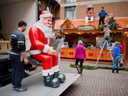 EPA GERMANY CHRISTMAS MARKET ACE CUSTOMS & TRADITIONS DEU LO