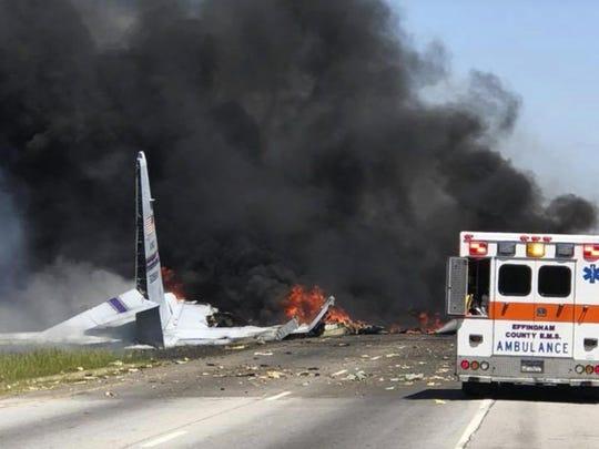 Military Plane Crash (2)
