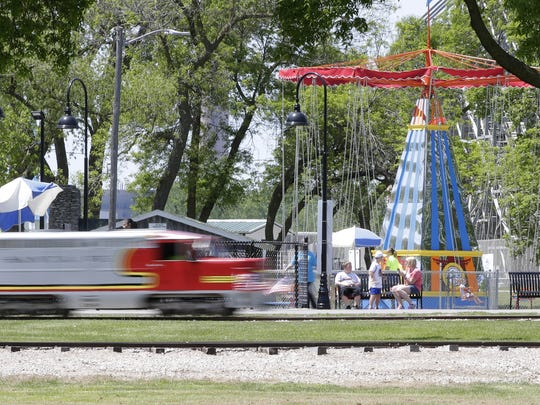 Plans are in the works to add a second track on the west side of the grounds for the Bay Beach Train. That route would take passengers under the Zippin Pippin.