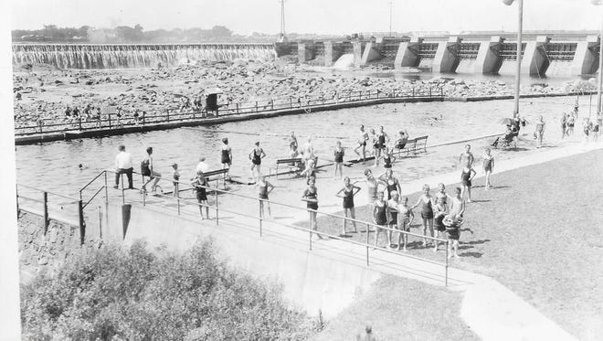 The first pool in Wisconsin Rapids (then known as Grand Rapids) was located on the east side near the dam and what is now known as Legion Park in the 900 block of First Street North.