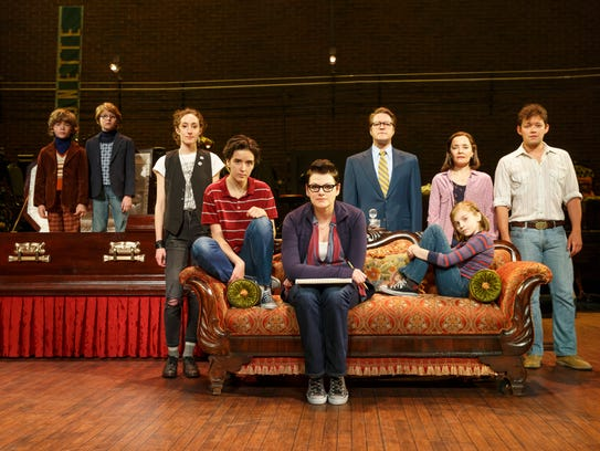 The National Tour Company of Fun Home.