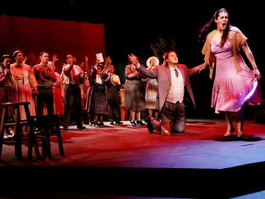 """Pasadena Opera's 2016 production of """"Susannah,"""" featuring"""
