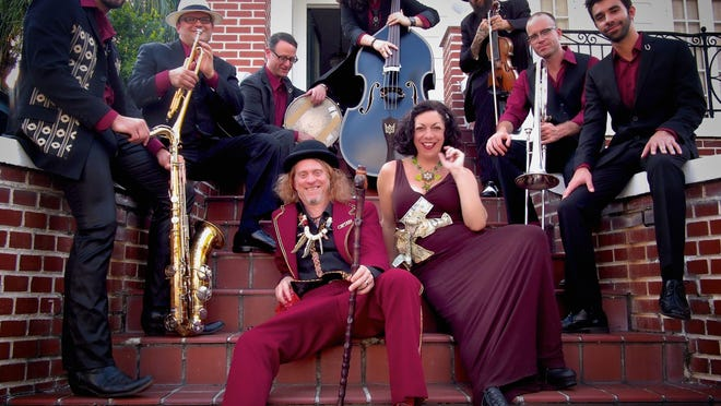 The swing fusion band Squirrel Nut Zippers will perform at 7:30 p.m. Thursday, Jan. 18 at the Cobb Great Hall.