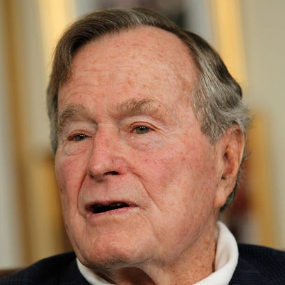 Former President George H.W. Bush remains in the hospital