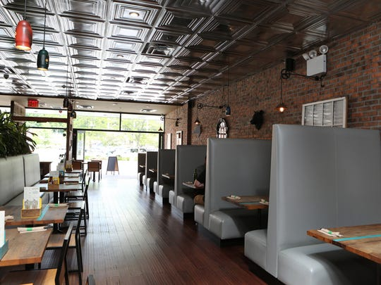 The interior of Bareburger on North Central Avenue in Hartsdale.