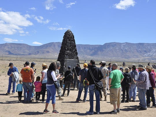 The Trinity Site will have an open house in October. This is the site where the world's first atomic bomb was tested and detonated.