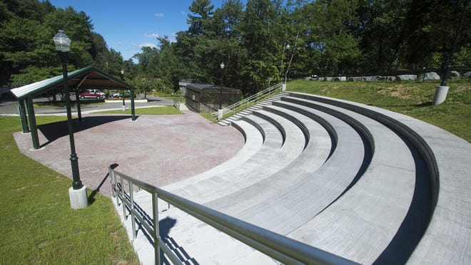 A look at the new Ross Park Amphitheater.