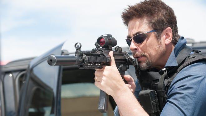 """Benicio Del Toro plays the bad guy in """"Sicario."""""""