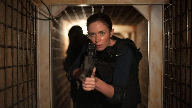 """Emily Blunt plays an FBI agent pursuing a drug lord in """"Sicario."""""""
