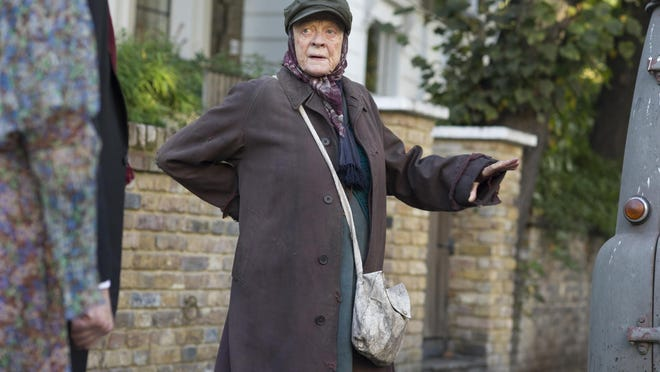 """Maggie Smith stars in """"The Lady in the Van,"""" about a woman who parked her van in Alan Bennett's London driveway and proceeded to live there for 15 years."""