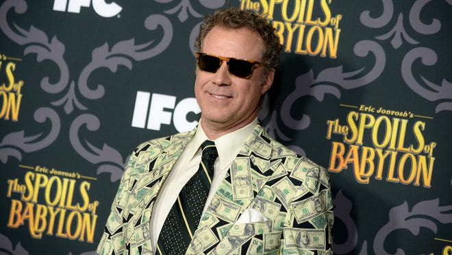 """Will Ferrell arrives at the premiere screening of """"The Spoils of Babylon"""" in Los Angeles. ( Jordan Strauss/Invision/AP)"""