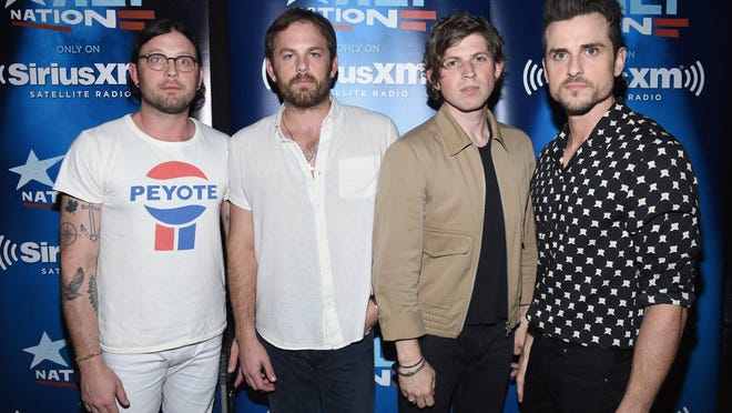 Kings of Leon — Nathan Followill, Caleb Followill, Matthew Followill, and Jared Followill — will perform at 7:30 p.m. Jan. 22 at the Fox Theatre.