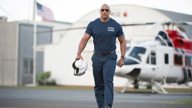 Dwayne Johnson in 'San Andreas'. Credit: Warner Bros. Pictures