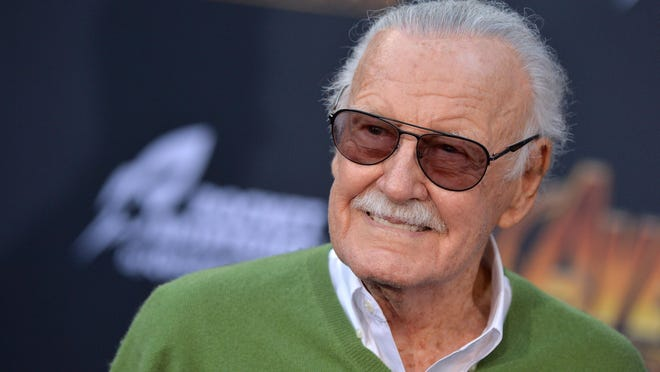 """Stan Lee attends the world premiere of """"Avengers: Infinity War"""" on April 23, 2018 in Los Angeles, Calif. (Lionel Hahn/Abaca Press/TNS)"""
