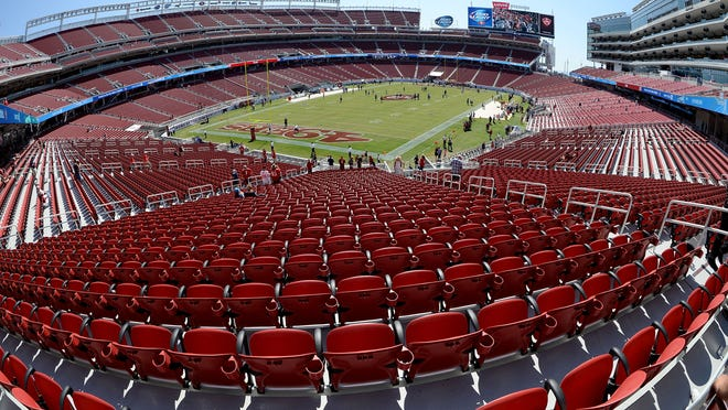 Michigan State will play in the Redbox Bowl, which began as the San Francisco Bowl, on New Year's Eve at Levi's Stadium in Santa Clara, California, home to the NFL's 49ers.