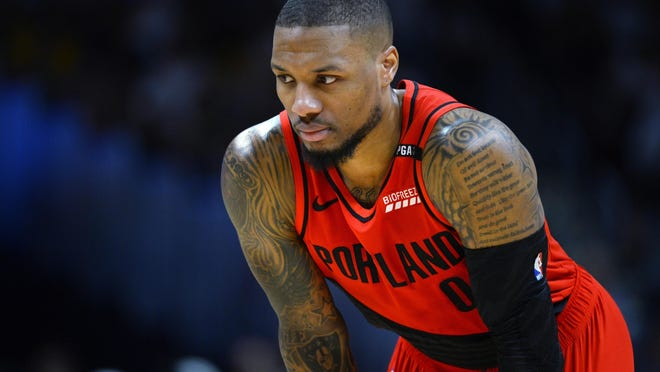 Led by guard Damian Lillard, the Portland Trail Blazers will be one of six teams challenging for the eighth playoff seed in the Western Conference.