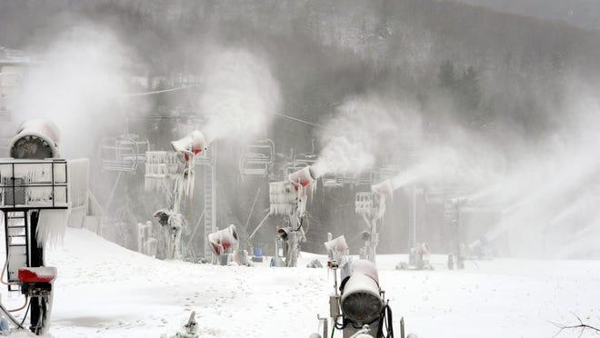 Cataloochee Ski Area in Maggie Valley.