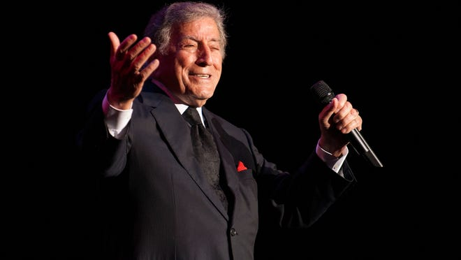 Singing legend Tony Bennett performs Saturday night at the Flynn Center as the centerpiece of the Burlington Discover Jazz Festival. His daughter Antonia Bennett opened the show.