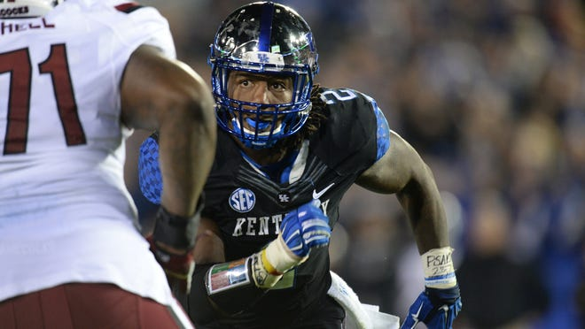 "Kentucky defensive end Bud Dupree said some days during the Wildcats' stretch of eight games in as many weeks, he felt like he ""got hit by a truck."" Players are happy to have a week off to recover."