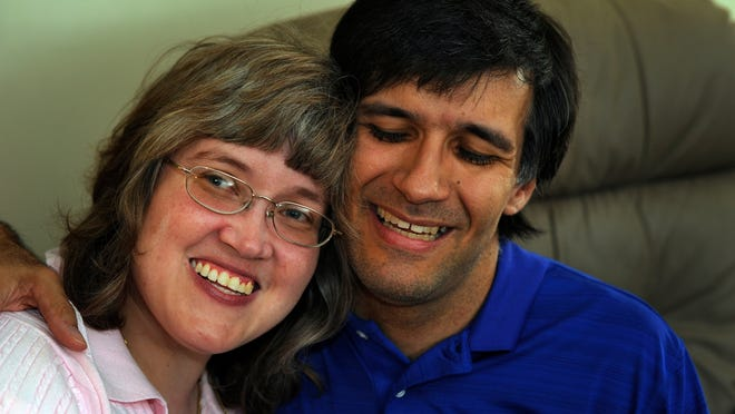 "Cheryl Coleman and John Blake, who both have cerebral palsy, are to be married today. ""People with significant disabilities have the same dreams as all of us do,"" a friend of the couple said."