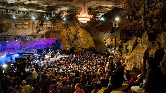 Widespread Panic performs during a past season of Bluegrass Underground.
