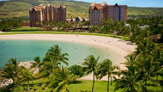 With its fun recreation features and restaurants, its comfortable rooms and its combination of Disney magic with Hawaiian beauty, tradition and relaxation, Aulani, a Disney Resort & Spa in Hawai'i, offers a new way for families to vacation together on the island of O'ahu.
