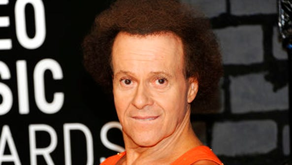 FILE - In this Aug. 25, 2013 file photo, Richard Simmons