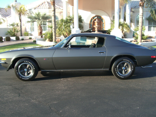 This 1970 Chevrolet Camaro Z/28 is one of two charity cars scheduled for auction at Barrett-Jackson Scottsdale on Thursday, Jan. 19, 2017.