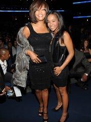 Whitney Houston and daughter Bobbi Kristina in November